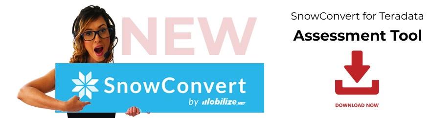 Announcing SnowConvert Assessment Tool