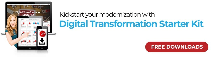 Kickstart your modernization with Digital Transformation Starter Kit - Free Download