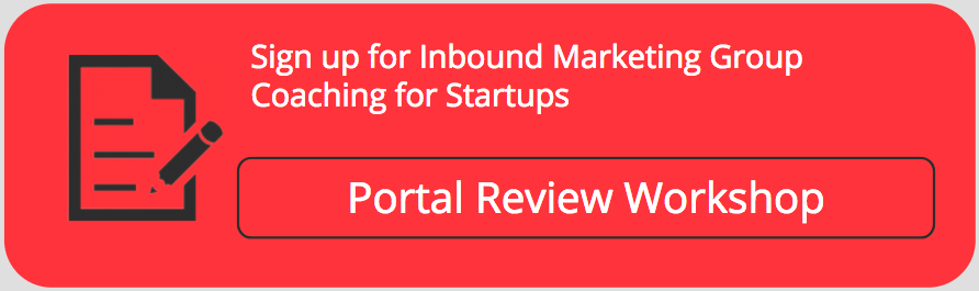 inbound group coaching for startups on HubSpot Portal Review