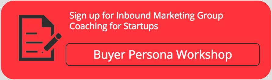 inbound marketing group coaching buyer persona workshop