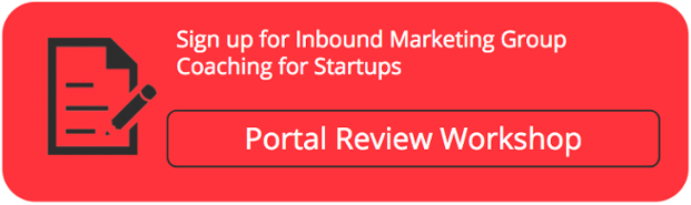 Startup group coaching hubspot portal review
