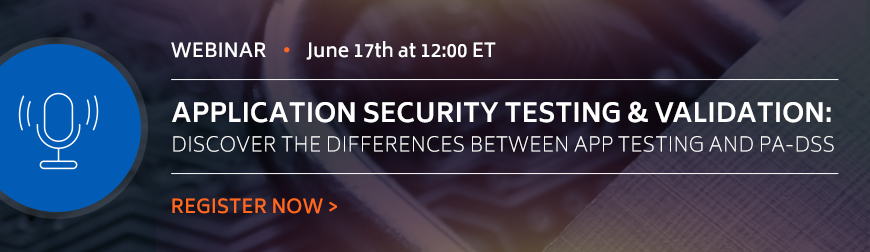 Applicatoin Security Testing and Validatoin Webinar