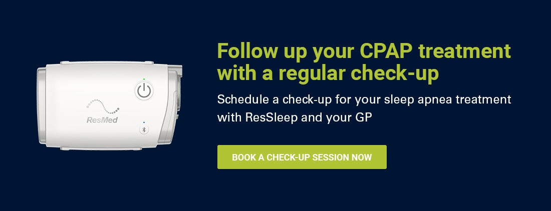 Follow up CPAP therapy checkups