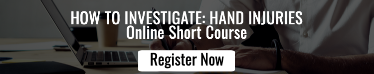 How to Investigate Hand Injuries Registration