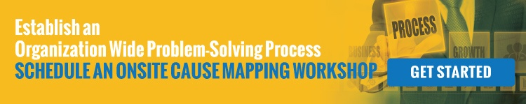 Establish an Organization Wide Problem-Solving Process | Schedule an Onsite Cause Mapping Workshop