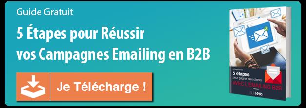 Livre blanc Emailing B2B - 5 étapes pour créer emailing efficace