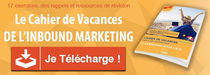 cahier de vacances inbound marketing