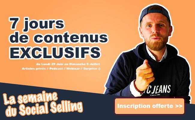 comment bien prospecter avec le social selling
