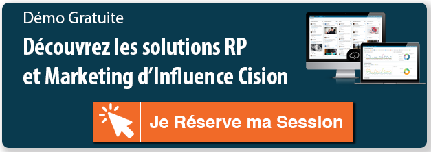 Demande de Demo Logiciel RP et Marketing Influence Cision