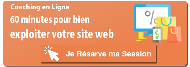 coaching marketing digital en ligne - 60 minutes site internet