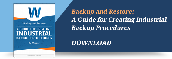 Backup and Restore: A Guide to Creating Industrial Backup Procedures - Download