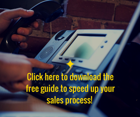 speed up sales process