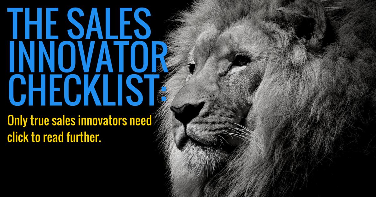 sales innovator