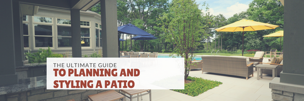 How to Style Your Patio