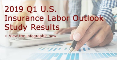 2019 Q1 U.S. Insurance Labor Outlook Study Infographic