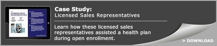 Case Study: Licensed Sales Representatives