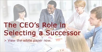 The CEO's Role in Selecting a Successor