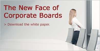 Download the white paper on the new face of corporate boards.