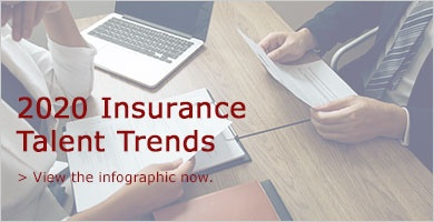 2020 Insurance Talent Trends Infographic