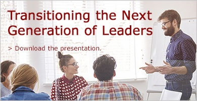 Download the presentation for strategies to develop the next generation of leaders.
