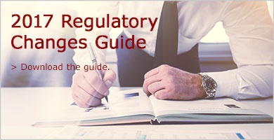 Download the 2017 Regulatory Changes Guide.