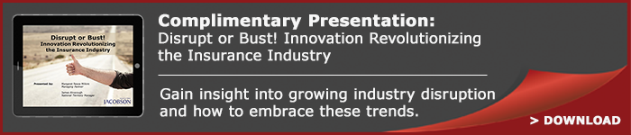 Complimentary Presentation: Disruption and Innovation in Insurance