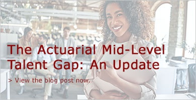 The Actuarial Mid-level Talent Gap: An Update