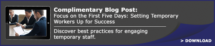 Focus on the First Five Days: Setting Temporary Workers Up for Success