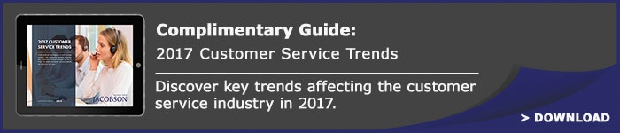Complimentary Guide: 2017 Customer Service Trends