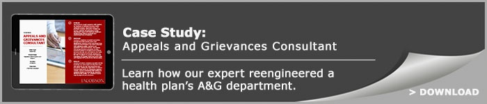Appeals and Grievances Consultant