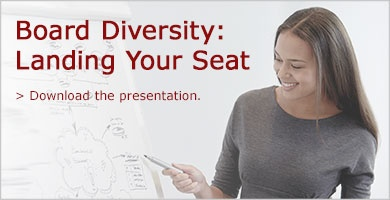 Download the presentation and land your board seat.