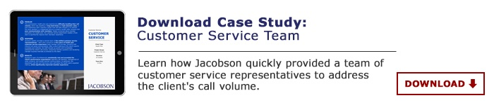 Customer Service Team - Case Study