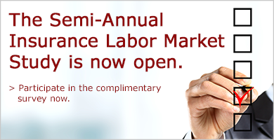 Participate in the complimentary Insurance Labor Market Study.