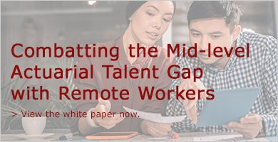 Combatting the Mid-level Actuarial Talent Gap with Remote Workers