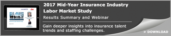 Gain deeper insights into insurance talent trends and staffing challenges.