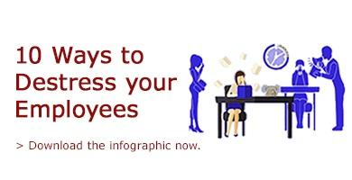 10 Ways to Destress Your Employees