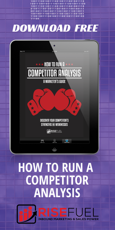 how to run a competitor analysis
