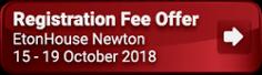 EtonHouse Newton Registration Fee offer