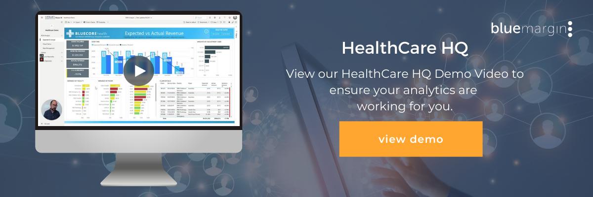Healthcare Analytics Demo | Blue Margin