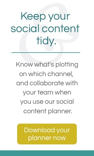 Download your 2018 Social Content Planner template now
