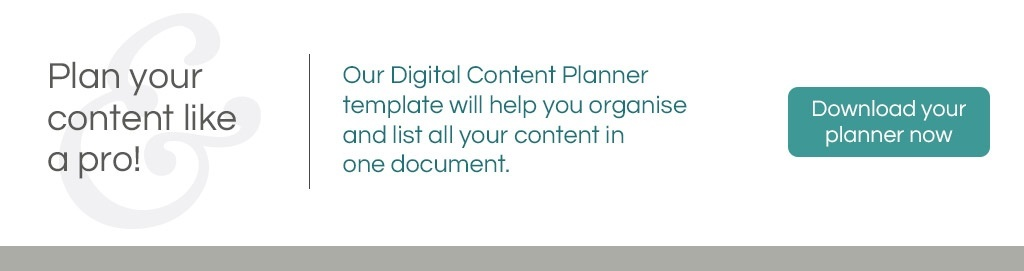 Maidenand | Download your Digital Content Planner template now