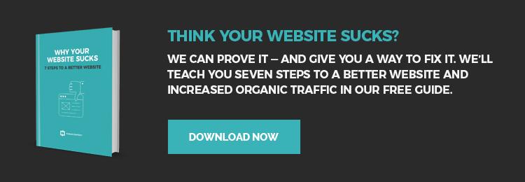 why your website sucks