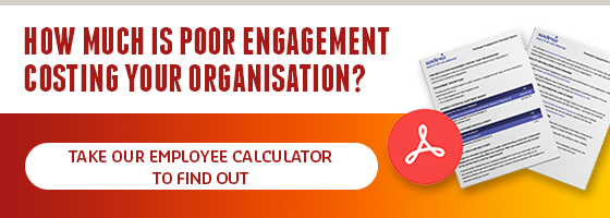 Take our employee engagement calculator