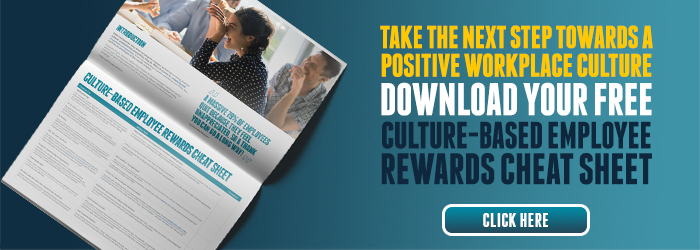 Take the next step towards a positive company culture - download your free culture-based employee rewards cheat sheet