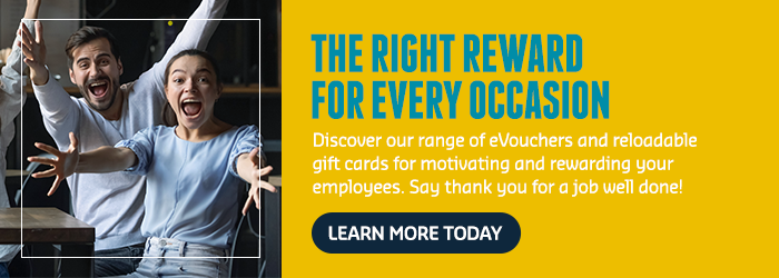 Discover our range of employee rewards for motivating your staff