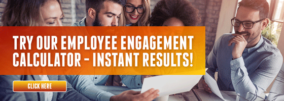 Try our free employee engagement calculator - instant results
