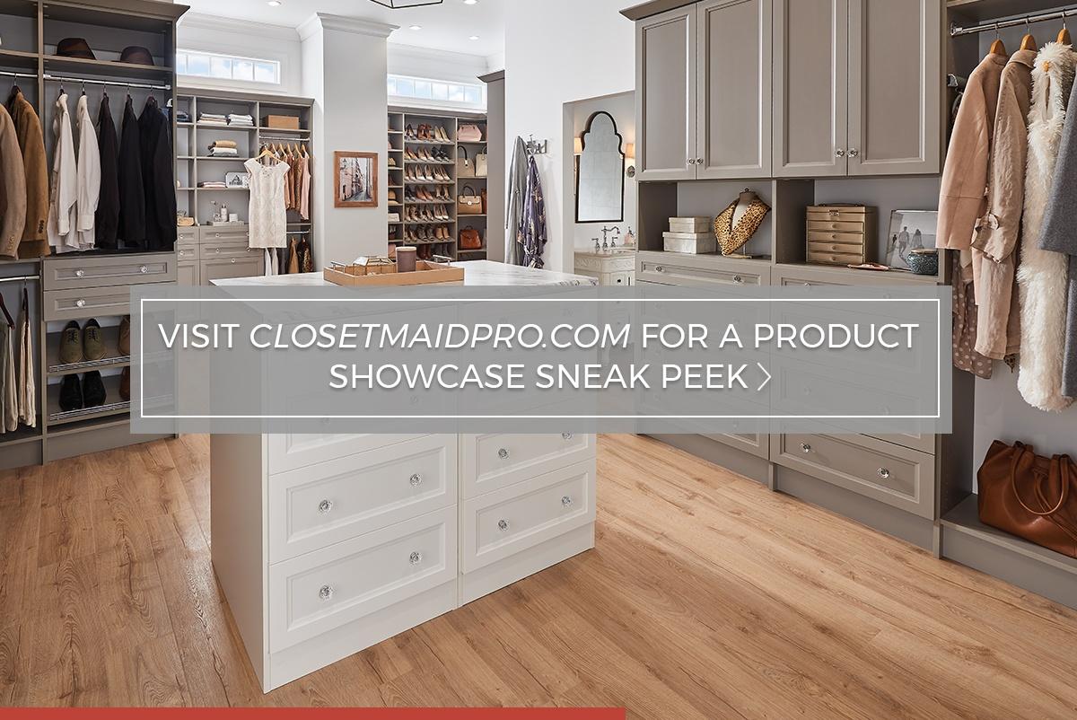 Visit ClosetMaidPro.com