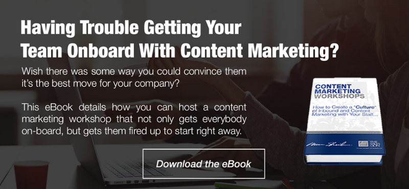 Download the Content Marketing Workshop eBook