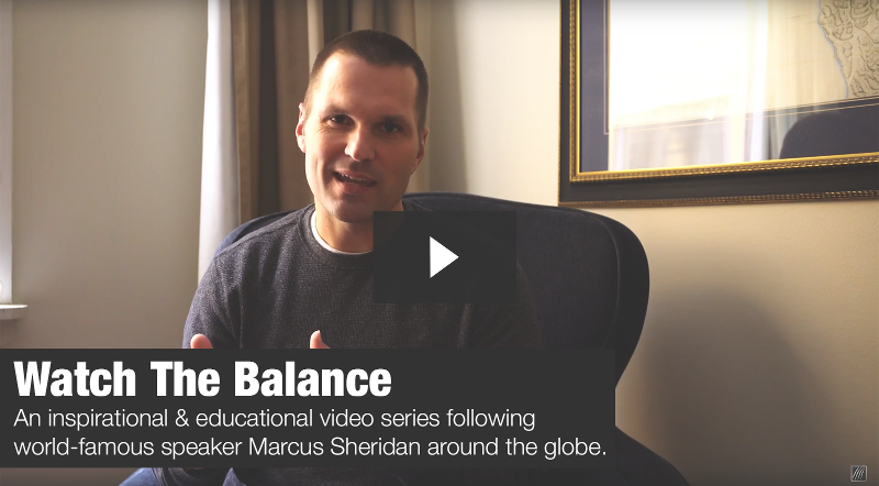 Watch The Balance with Marcus Sheridan