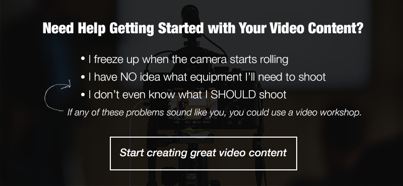 Book a Video Content Workshop with The Sales Lion